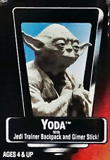 Yoda w/ Backpack and Stick Unopened Star Wars POTF2 1995 Action Figure Red Card