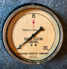 Johnson Service Company Day Or Heating Control Steampunk