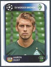 PANINI UEFA CHAMPIONS LEAGUE 2010-11- #034-WERDER BREMEN-AARON HUNT