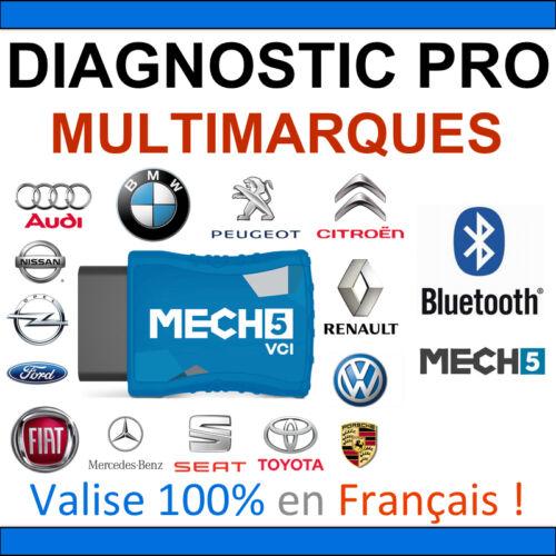 VCI Mech5 1 mois d/'abonnement Diag professionnel révolutionnaire