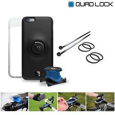 Quad Lock Bike Kit for iPhone 7 inc Phone Case + Bike Mount + Weatherproof Cover