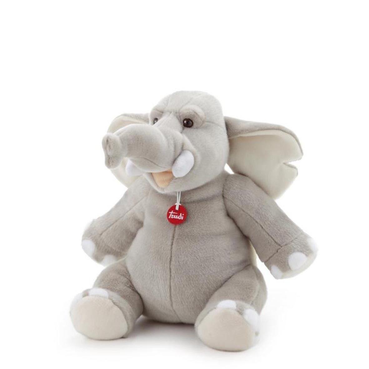 Elefante Teobaldo Trudi  cm 26 Top quality made in Italy