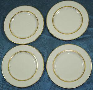 4 Fukagawa Japon Dorset du pain et du beurre plaques Imperial porcelaine bordure dorée-afficher le titre d`origine LDYO7qHy-09162825-751339105