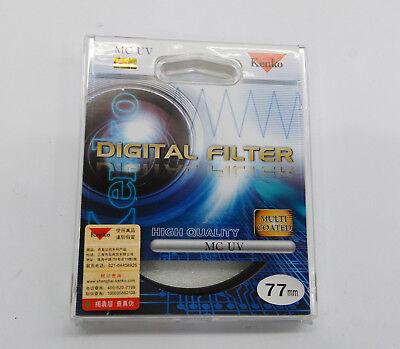 NEW Genuine KENKO 77 mm Digital UV Filter