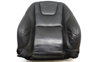 12-VOLVO-S60-T5-FRONT-LEFT-UPPER-SEAT-CUSHION-LEATHER-BLACK-3101-OEM-12-13-14