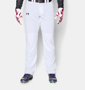 Under Armour Relaxed Fit Baseball Softball Pants White NWT Size Men's Medium