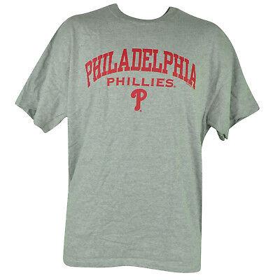 Fanartikel Sport 100% Wahr Mlb Philadelphia Phillies Baumwolle T-shirt Tasse Becher Sets Grau Baseball Mens