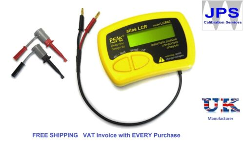 LCR40 Atlas LCR Passive Component Analyser Peak LCR40  JPST004  VAT Invoice