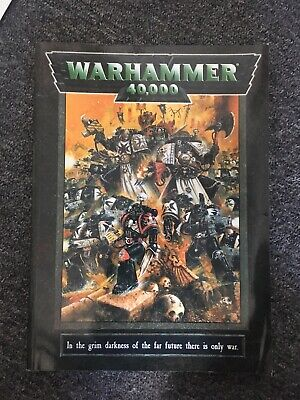 Warhammer 40k Games Workshop Libro Guida Regole-mostra Il Titolo Originale