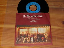 JOHN PARR - ST ELMO'S FIRE / GERMANY VINYL 7'' SINGLE 1985 MINT-