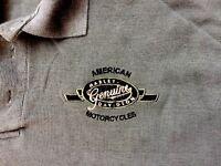 Harley Davidson Genuine Green Polo Shirt Men's Medium (fits Large)