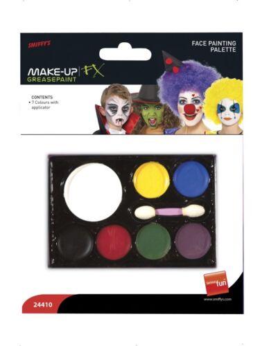 Schminke 7 Farben Makeup Gesichtsschminke Karneval