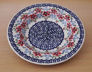 Geschenk-tiefer-Suppen-Teller-24-cm-Bunzlauer-Keramik-ni3302-Handarbeit-must101