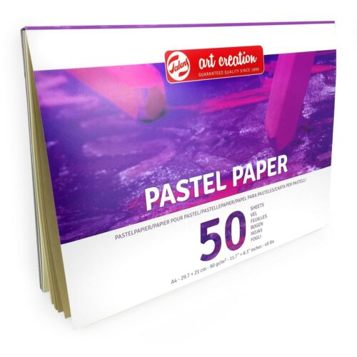 50 Sheets Royal Talens Art Creation A4 Pastel Paper Sketchbook 90gsm