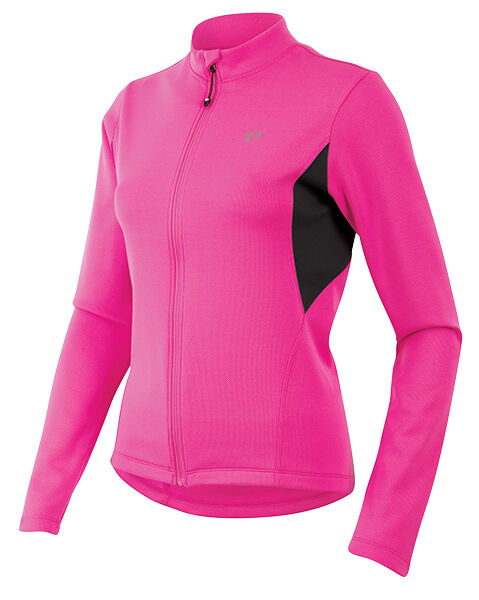 Pearl Izumi Women's Sugar Thermal Cycling Bike  Jersey Screaming Pink 2XL  inexpensive