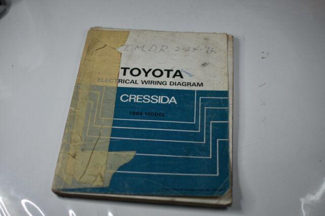 1984 Toyota Cressida Service Shop Repair Workshop Electric