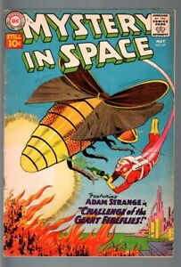 Mystery In Space #67  1961 - DC  -G - Comic Book