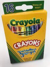 Crayola Crayons Washable,16 Crayons 52 6916 C264B