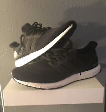 a1a11fc191804 Adidas Ultra Boost 3.0 Core Black White Running Shoes BA8842 Men Size 12.5