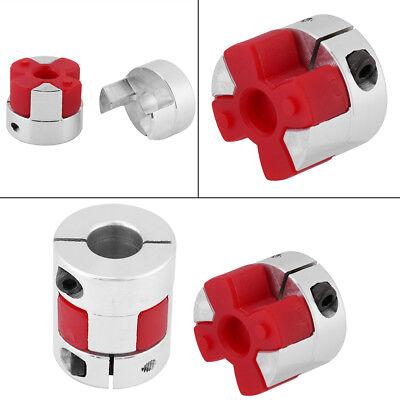 Coupling 8mm-8mm 1pc Aluminum Alloy Plum Shaft Coupling Coupler Connect D25 L30 Plum Coupling Shaft
