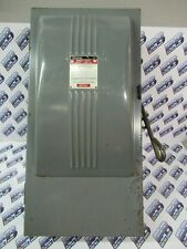 Westinghouse Caf423 1 100 Amp 240 Volt 3p4w Fusible Vintage Disconnect