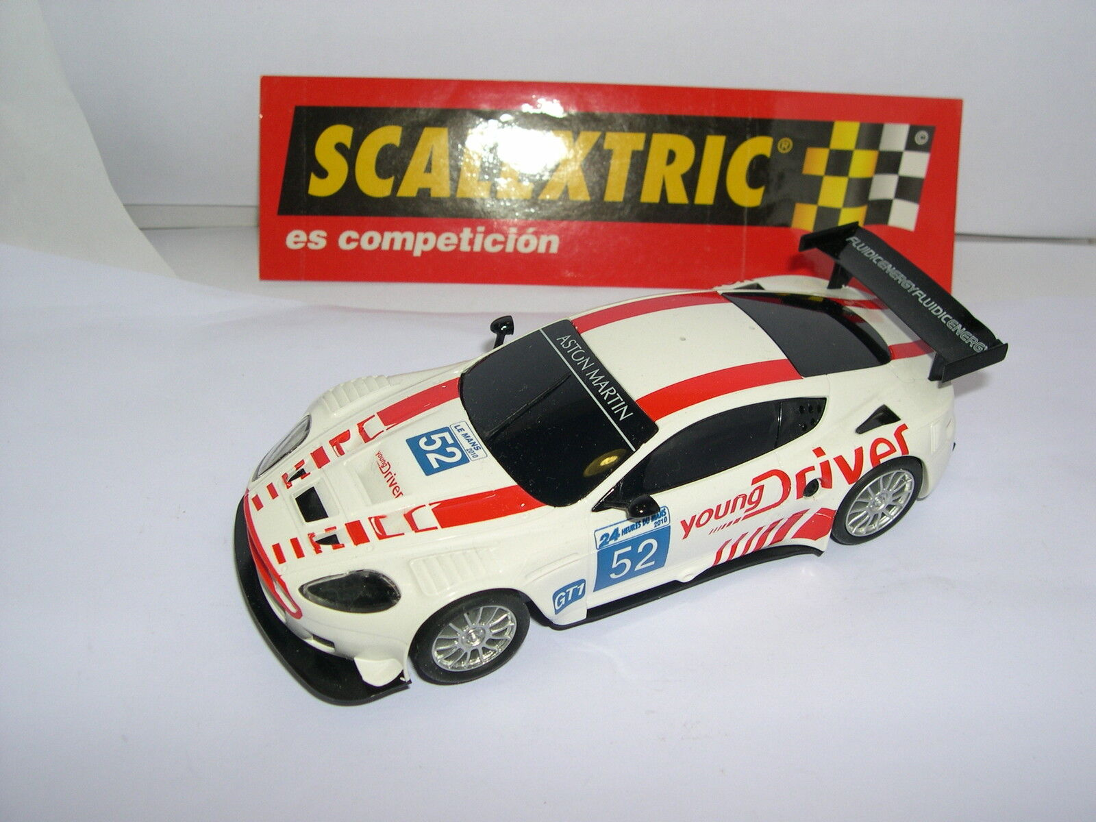SCALEXTRIC ASTON MARTIN DBR9  52 LE MANS YOUNG DRIVER ONLY SETS MINT UNBOXED
