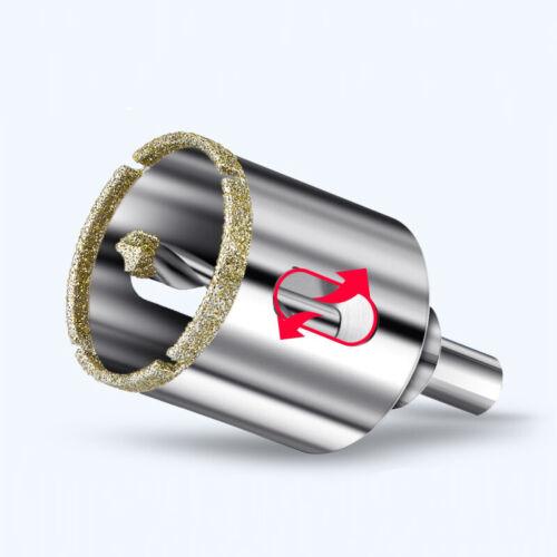 Diamond Holesaw Bi Metal Drill Bits Glass Marble Ceramics Cutter Bit 16-120mm