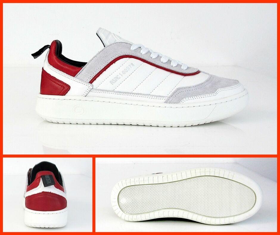 COLMAR HOLDEN ORIGINALS Zapatos hombre HOLDEN COLMAR 705 col.Blanco/ROSSO estate 2017 b71cf8