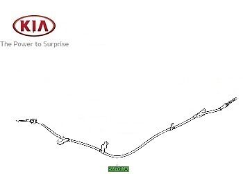 LH 597602P000 Genuine Kia Sorento 2010-2013 Hand Brake Cable