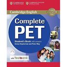 Complete PET Student's Book with Answers with CD-ROM and Testbank by Emma Heyderman, Peter May (Mixed media product, 2016)