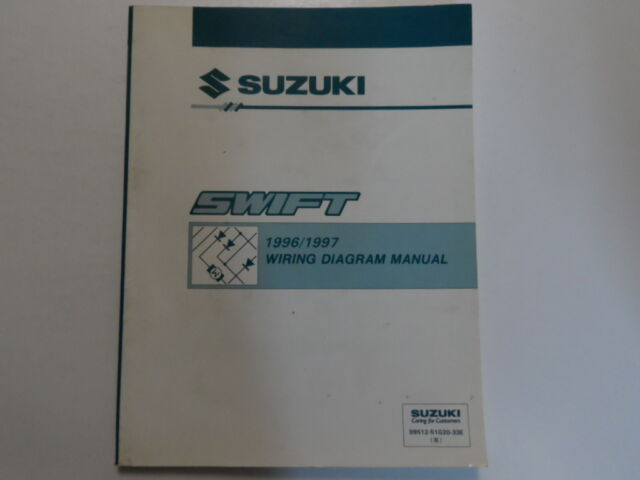 1996 1997 Suzuki Swift Electrical Wiring Diagram Shop