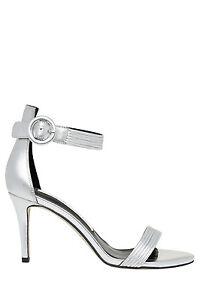 NEW-Wayne-Cooper-Tessa-Silver-Leather-Sandal
