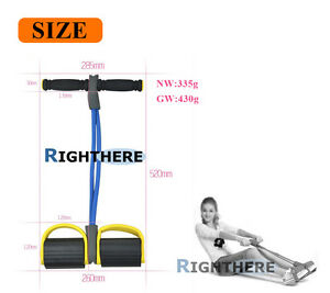 LEG-RESISTANCE-BAND-PULL-EXERCISE-FITNESS-WEIGHT-LOSS