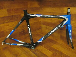 Carbon Fiber Frame Bikes For Sale Ebay >> Details About Orbea Onix Carbon Road Bike Frame Set 51 Cm