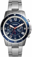 Men's Fossil Grant Sport Steel Chronograph Watch FS5238