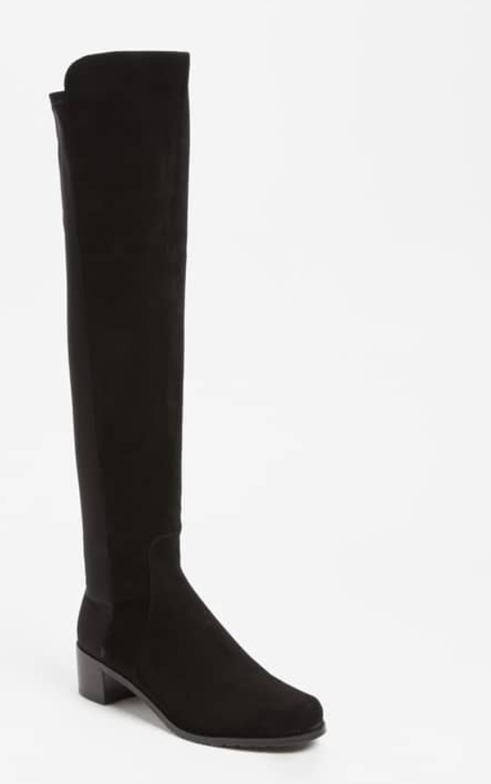 Stuart Weitzman ante para mujer reserva negro sobre la rodilla rodilla rodilla botas talla 10 7718  seguro de calidad