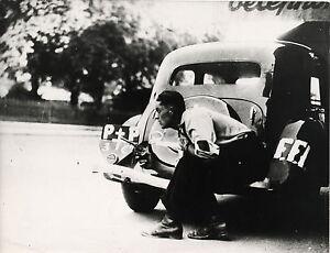 PHOTO-VINTAGE-LIBERATION-DE-PARIS-FFI-1945-WWII-2EME-GUERRE-MONDIALE-L-A-P-I