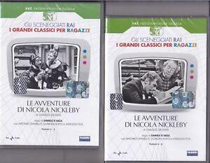 2-Dvd-Sceneggiati-Rai-LE-AVVENTURE-DI-NICOLA-NICKLEBY-con-A-Foa-completa-1958