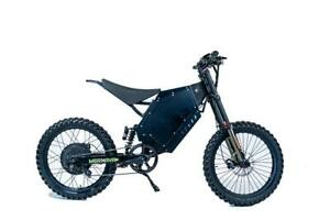 Powerful 5kW Electric MX (Falcon5K by Merkava). Rugged eBike for the serious rider. Canada Preview