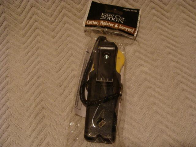 Easy Cut Safety Box Cutter Yellow 2000 Series EZ Cut   NEW