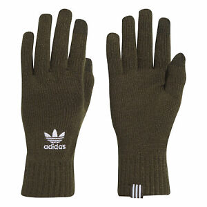 adidas-Originals-Mens-Knitted-Winter-Smartphone-Gloves-Khaki