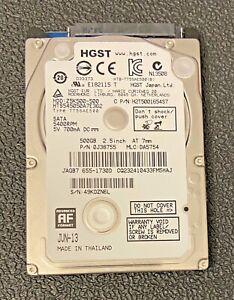 Mac-Catalina-HGST-500GB-SATA-2-5-034-Hard-Drive-5400RPM-Z5K500-500-HD-Apple-OS