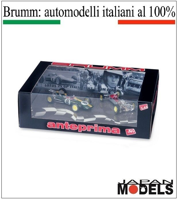 LOTUS 25 GP Italia 1963 1° Jim Clark A005 Brumm 1 43 New Nuovo