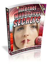 INTERNET MILLIONAIRES SECRETS PDF EBOOK FREE SHIPPING RESALE RIGHTS