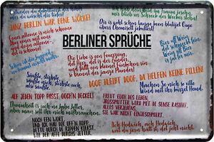 Berliner Schnauze Sprüche