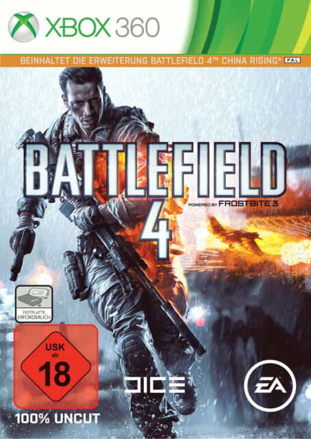 Battlefield 4 -- Day One Edition (Microsoft Xbox 360, 2013, DVD-Box)