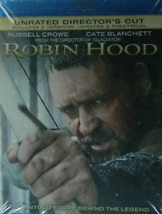 Ridley-Scott-039-s-ROBIN-HOOD-2010-Blu-ray-2-Disc-Unrated-Director-039-s-Cut-2-Versions