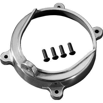 Primo Polished Alternator Rotor Engine Guard Cover Open Belt Drive Harley Shovel