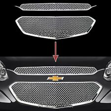 2016 2017 Chevy Equinox CHROME Snap On Grille Overlay Front Grill Covers Inserts