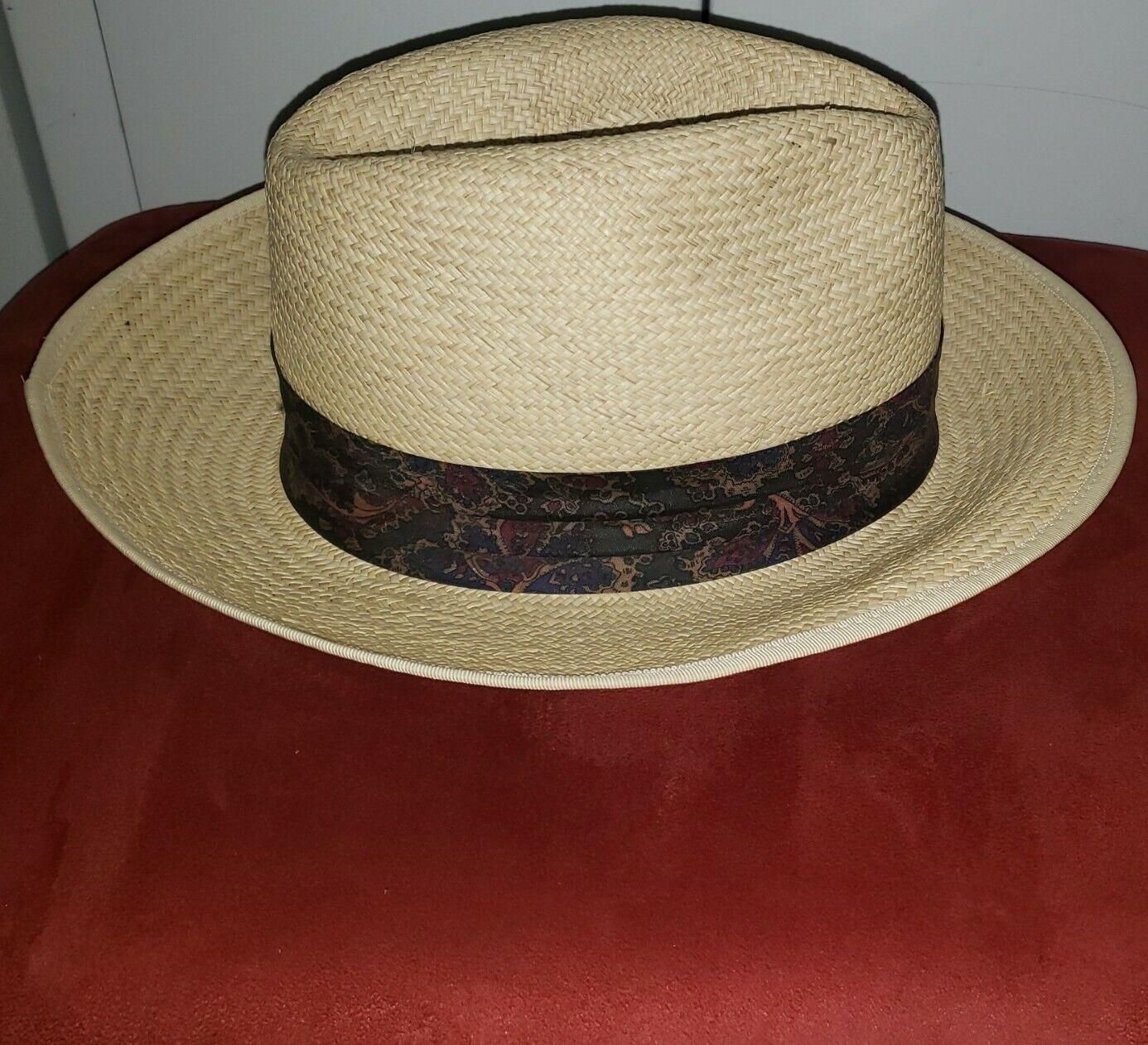 Vintage Kangol XL Straw Summer Hat - image 2